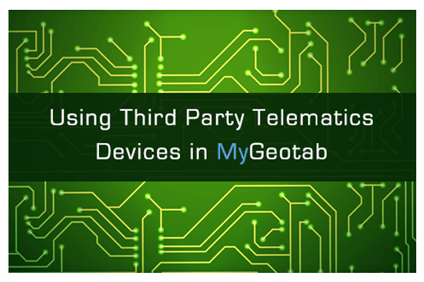 third party devices geotab gofleet