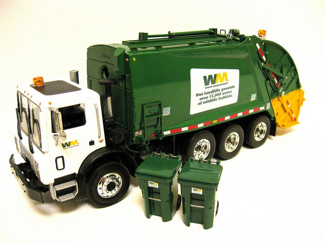 Waste Management Industry Clean Up With GPS Technology