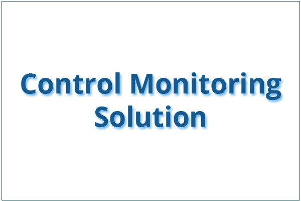 Control Monitoring Solution