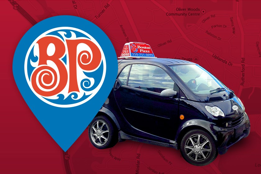 Boston Pizza Real Time Tracking Delivers Food Fresh Amp On Time
