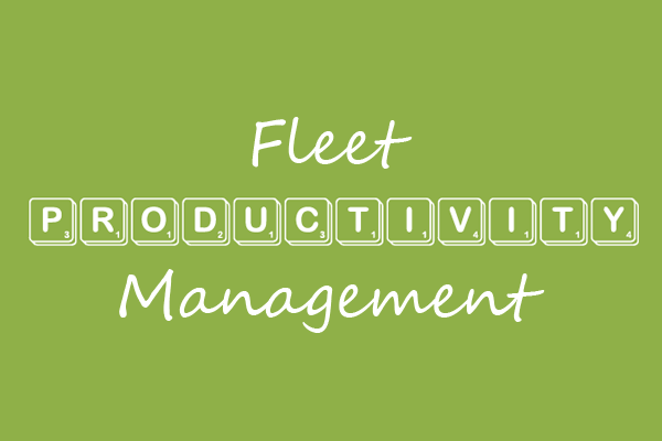 fleet productivity management