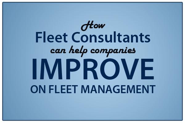 fleet consultants improve fleet management