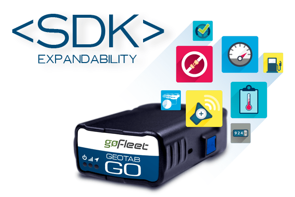 geotab sdk extends value