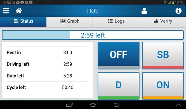 Geotab Drive HOS App