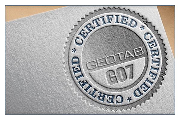 Geotab GO7 Certification