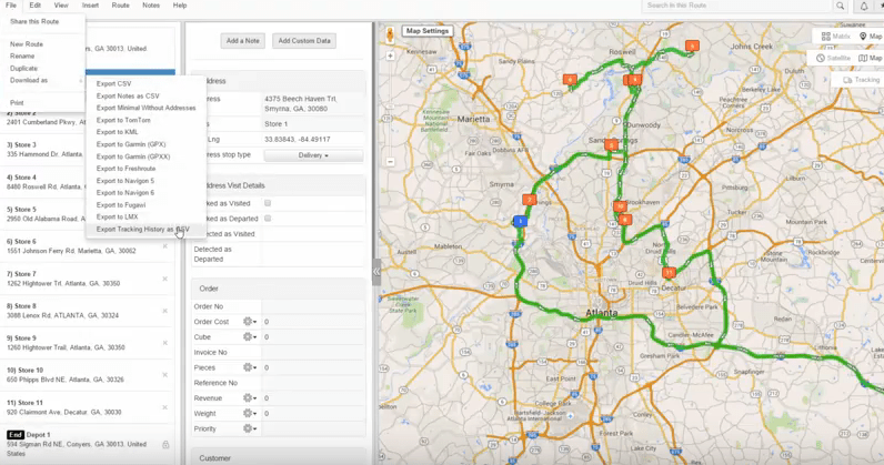 Fleet Route Planning Software