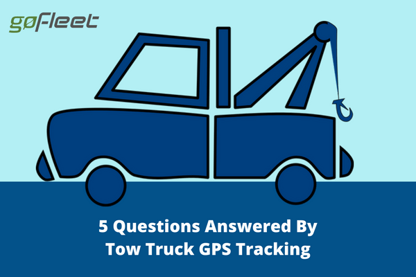 tow truck gps trackers
