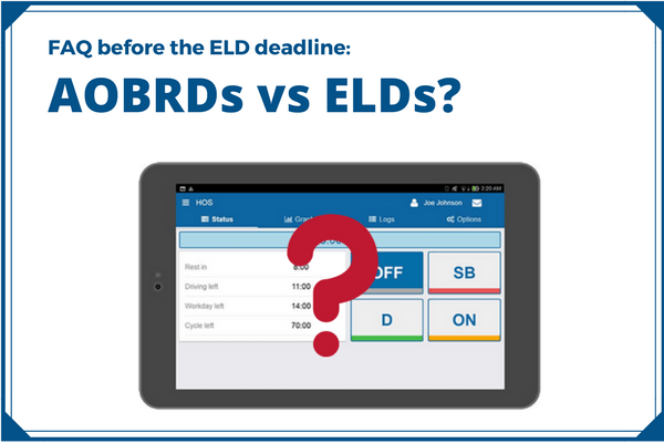AOBRDs vs ELDs