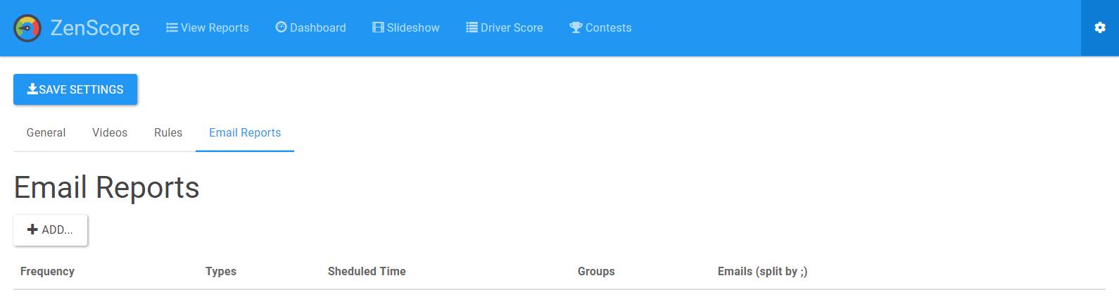 ZenScore Email Reports
