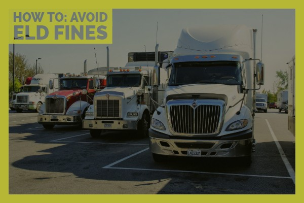Avoid ELD fines
