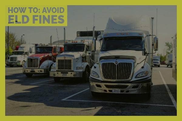 Avoid ELD fines