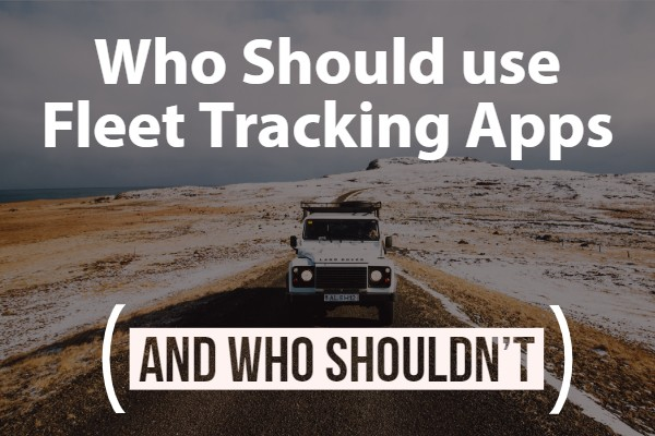 fleet, tracking apps