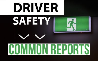 Part 3: Common Useful Reports – Driver Safety Reports
