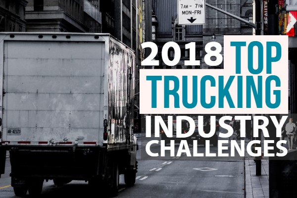 trucking industry challenges 2019