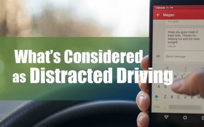 What's Considered as Distracted Driving?