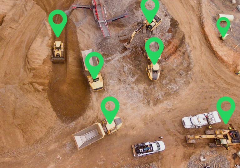 how to track equipment - construction