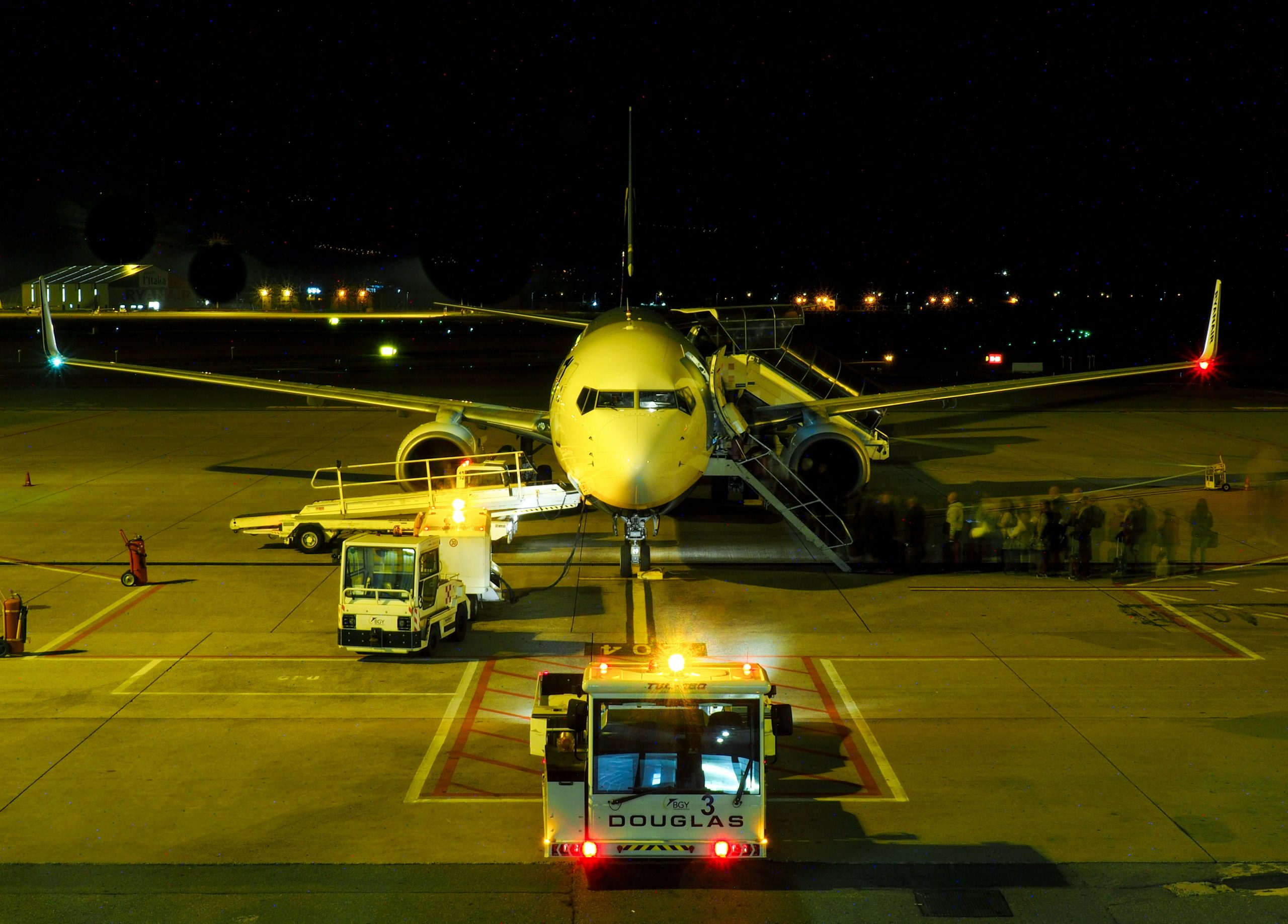 Operational congestion occurs in highly localized environments such as airports