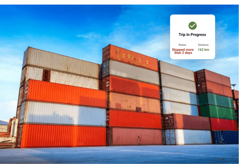 Manage Container Tracking