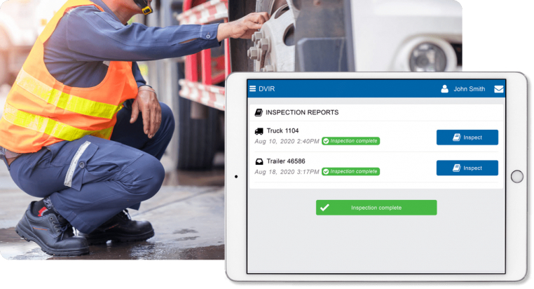 Driver Vehicle Inspection Reports (DVIR)