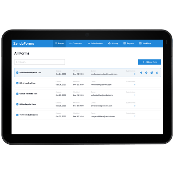 ZenduForms – Make Digital Forms