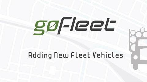 Adding & Setting Up New Vehicles