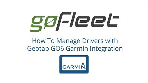 Manage Your Drivers With Garmin Integration