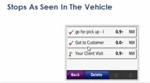 Send Route To Garmin Navigation