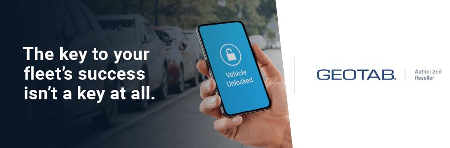 geotab, keyless, car sharing, keyless entry, fleet, iox