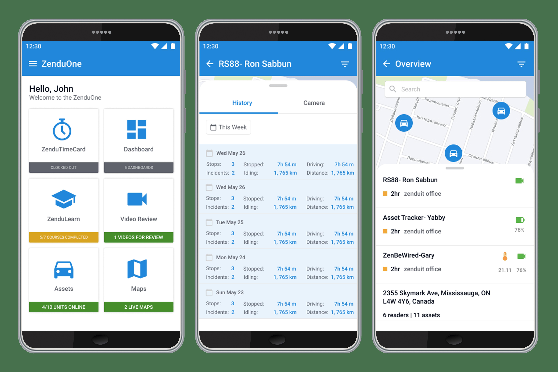 product update, gofleet, zenduit, zenducam, trax, zenduone, mobile app